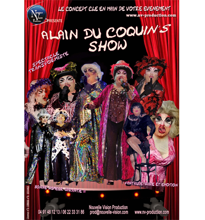 ALAIN COQUIN SHOW nv-production.com
