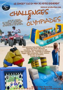 CHALLENGES ET OLYMPIADES nv-production
