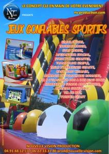 Jeux gonflables et sportif