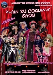 ALAIN DES COQUIN'S SHOW nv-prod.com