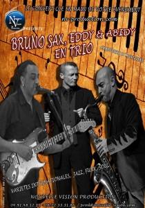 BRUNO SAX EDDY ABIDY TRIO nv-production