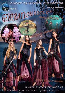 GENERATION VIOLON nv-production.com