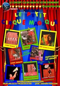 LE PETIT CIRQUE MAGIQUE nv-production.com