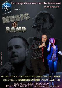 MUSIC AND BAND